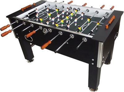 Voetbaltafel TopTable Big Black Carbon