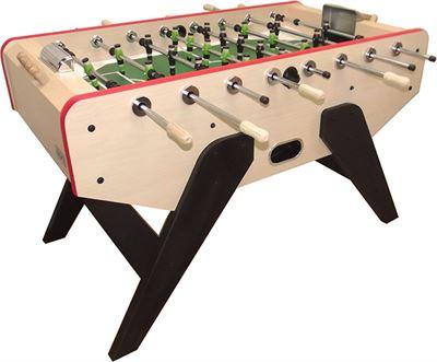 Retro voetbaltafel TopTable Winner, houten spelers!