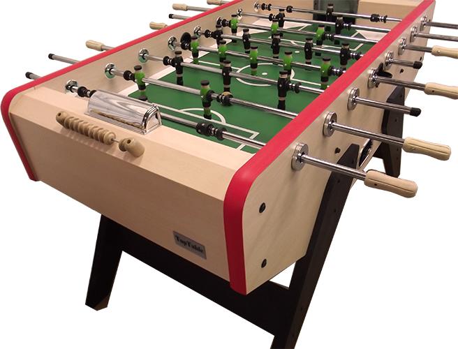 VC0203: Retro voetbaltafel TopTable Winner, houten spelers! #3
