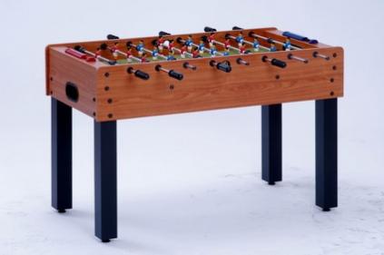 VC0215-3: Garlando F-1 Cherry Wood voetbaltafel met solid rods Gratis levering! #1