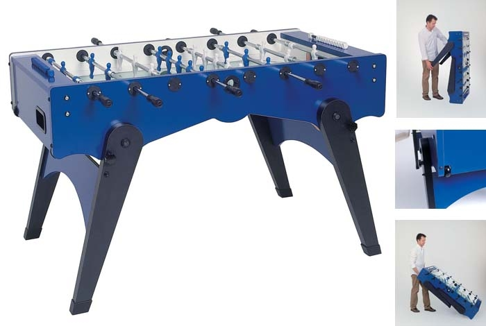 VC0216: Voetbaltafel Garlando Foldy, Gratis levering & Montage! #1