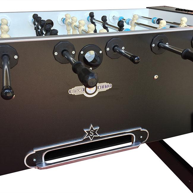 VC0243-LB: Voetbaltafel Deutscher Meister Luxeline Zwart Gratis levering & Montage! #2