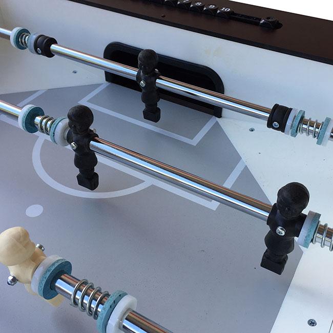 VC0243-LB: Voetbaltafel Deutscher Meister Luxeline Zwart Gratis levering & Montage! #3