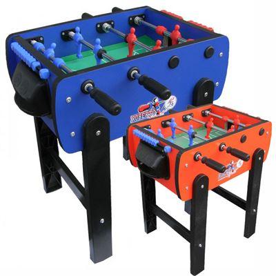 Voetbaltafel Roberto Roby Kleur: rood of blauw Gratis levering in doos!