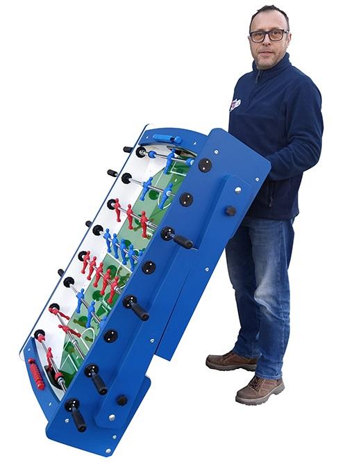 VC0340: Voetbaltafel Roberto Flexy 2.0 Wood (inklapbaar) Gratis levering in doos! #5