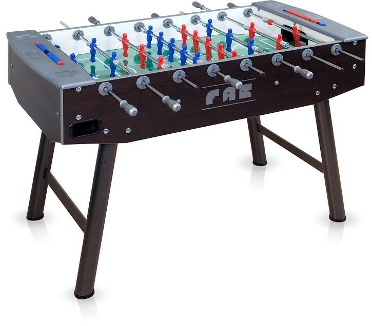 VC0358: voetbaltafel Fas Fun Wenge Gratis levering #1