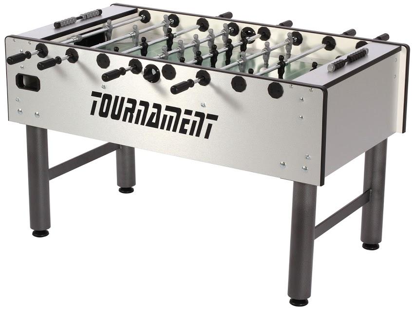 VC0375: Wedstrijd voetbaltafel Fas Tournament 2.0 Zilvergrijs Gratis levering #1
