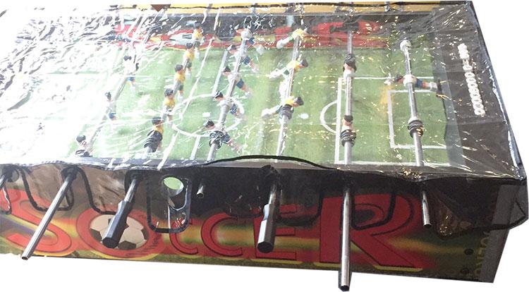 VC0494: Bescherm hoes voetbaltafel clear pvc  #1