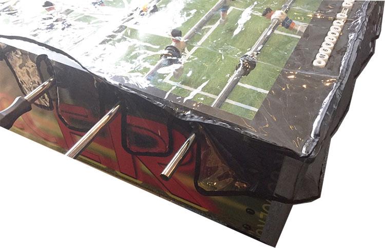 VC0494: Bescherm hoes voetbaltafel clear pvc  #2