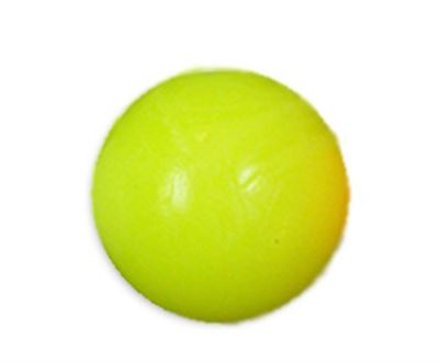 tafelvoetbal bal neon geel z/profiel 34mm 16gram