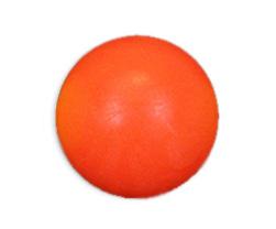 VC0503: tafelvoetbal bal neon oranje z/profiel 34mm 16gram #1