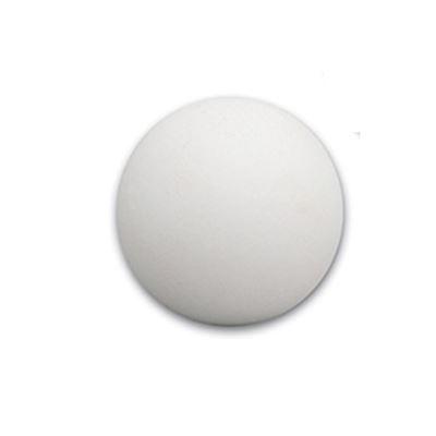tafelvoetbal bal kurk 35mm 13gr wit