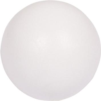VC0517: set van 10 tafelvoetballetjes wit z/profiel 34mm  16gram #1