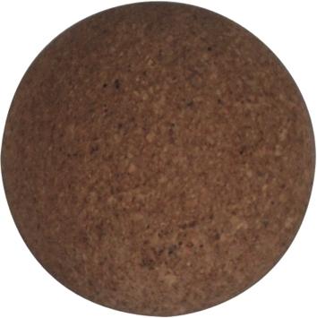 VC0519: set van 10 tafelvoetballetjes kurk 35mm  #1