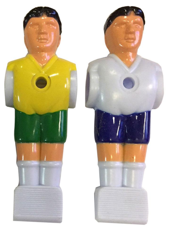 VC0578: voetbal pop div kleur 16mm #1
