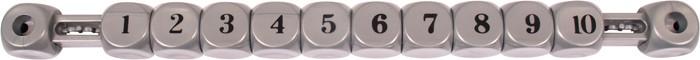 VC0651: score teller schuif grijs  #1